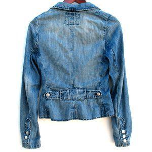 """True Religion Denim Jacket Home Made 16"""" Chest"""